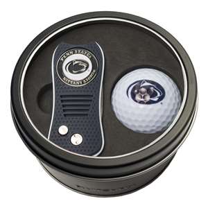 Penn State University Nittany Lions Golf Tin Set - Switchblade, Golf Ball