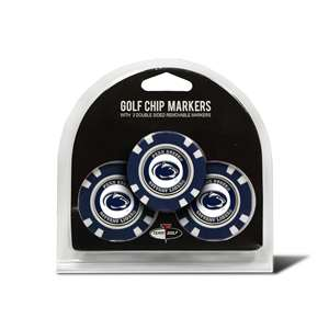 Penn State University Nittany Lions Golf 3 Pack Golf Chip
