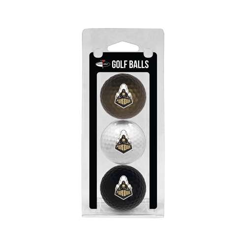 Purdue University Boilermakers Golf 3 Ball Pack 23005
