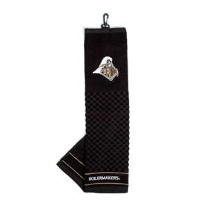 Purdue University Boilermakers Golf Embroidered Towel