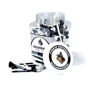 Purdue University Boilermakers Golf 175 Tee Jar
