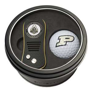 Purdue University Boilermakers Golf Tin Set - Switchblade, Golf Ball