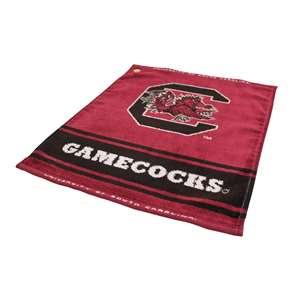 South Carolina Gamecocks  Jacquard Woven Golf Towel