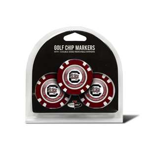 University of South Carolina Gamecocks Golf 3 Pack Golf Chip 23188
