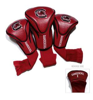University of South Carolina Gamecocks Golf 3 Pack Contour Headcover