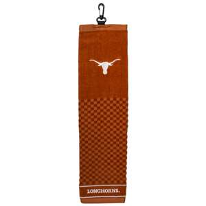 University of Texas Longhorns Golf Embroidered Towel