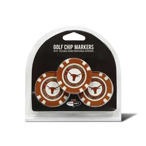University of Texas Longhorns Golf 3 Pack Golf Chip