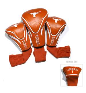 University of Texas Longhorns Golf 3 Pack Contour Headcover 23394