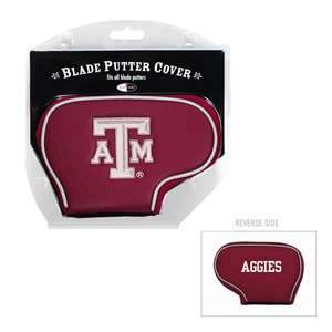 Texas A&M Aggies Golf Blade Putter Cover