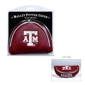 Texas A&M Aggies Golf Mallet Putter Cover