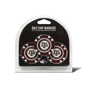 Texas A&M Aggies Golf 3 Pack Golf Chip 23488