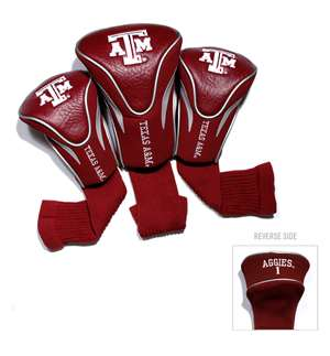 Texas A&M Aggies Golf 3 Pack Contour Headcover 23494