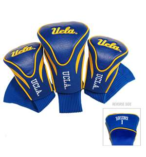 UCLA Bruins Golf 3 Pack Contour Headcover