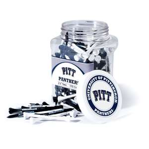 University of Pittsburgh Panthers Golf 175 Tee Jar 23751