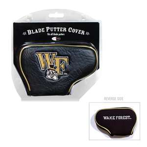 Wake Forest University Demon Deacons Golf Blade Putter Cover 23801
