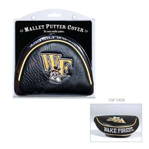 WAKE FOREST UNIVERSITY Golf Club Mallet Putter Headcover