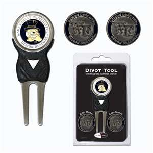 Wake Forest University Demon Deacons Golf Signature Divot Tool Pack