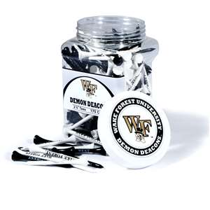 WAKE FOREST UNIVERSITY Golf Tee - 175 Count Jar of Tees