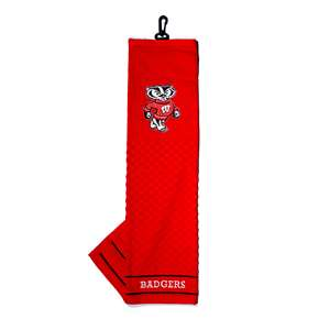 WISCONSIN (UNIVERSITY OF) Golf Towel - Ball Club & Bag Towels