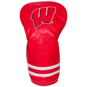 University of Wisconsin Badgers Golf Vintage Driver Headcover 23911