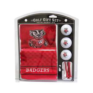 University of Wisconsin Badgers Golf Embroidered Towel Gift Set 23920