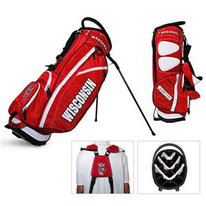 Wisconsin, University of   Golf FAIRWAY STAND BAG