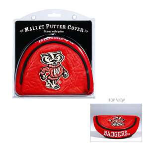 University of Wisconsin Badgers Golf Mallet Putter Cover
