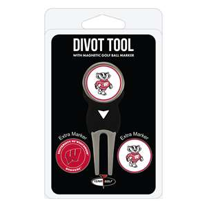 University of Wisconsin Badgers Golf Signature Divot Tool Pack  23945