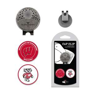 University of Wisconsin Badgers Golf Cap Clip Pack 23947