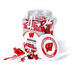 University of Wisconsin Badgers Golf 175 Tee Jar
