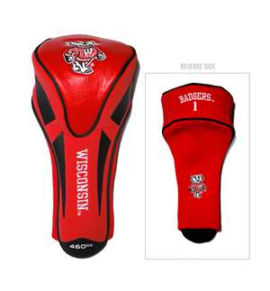 WISCONSIN (UNIVERSITY OF) Golf Club Single Apex Headcover