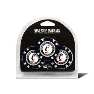 University of Cincinnati Bearcats Golf 3 Pack Golf Chip