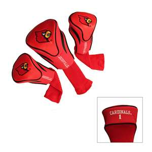 University of Louisville Cardinals Golf 3 Pack Contour Headcover