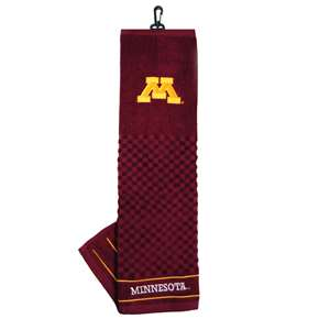 University of Minnesota Golden Gophers Golf Embroidered Towel