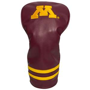 University of Minnesota Golden Gophers Golf Vintage Driver Headcover 24311