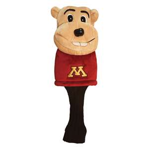 University of Minnesota Golden Gophers Golf Mascot Headcover  24313