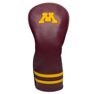 University of Minnesota Golden Gophers Golf Vintage Fairway Headcover 24326