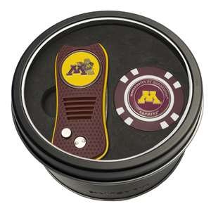 University of Minnesota Golden Gophers Golf Tin Set - Switchblade, Golf Chip
