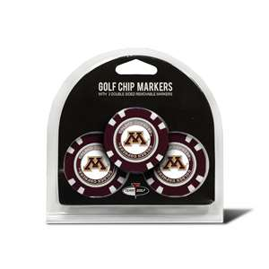 University of Minnesota Golden Gophers Golf 3 Pack Golf Chip