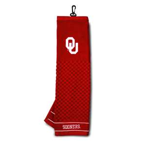 University of Oklahoma Sooners Golf Embroidered Towel