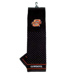 Oklahoma State University Cowboys Golf Embroidered Towel