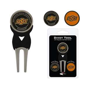 Oklahoma State University Cowboys Golf Signature Divot Tool Pack