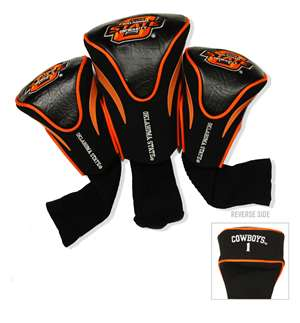Oklahoma State University Cowboys Golf 3 Pack Contour Headcover