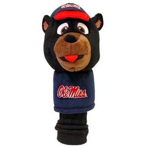 University of Mississippi Ole Miss Rebels Golf Mascot Headcover