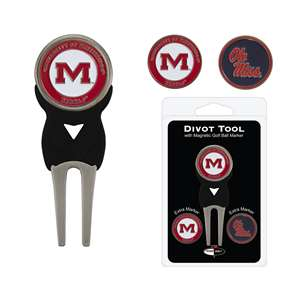 University of Mississippi Ole Miss Rebels Golf Signature Divot Tool Pack