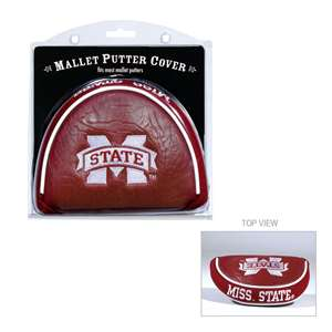 Mississippi State University Bulldogs Golf Mallet Putter Cover