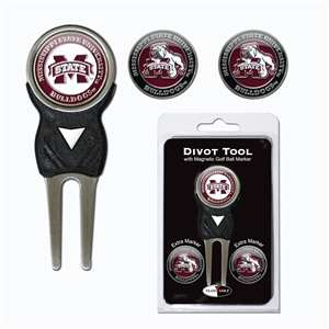 Mississippi State University Bulldogs Golf Signature Divot Tool Pack