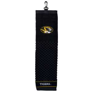 University of Missouri Tigers Golf Embroidered Towel