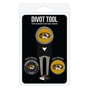 University of Missouri Tigers Golf Signature Divot Tool Pack