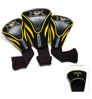 University of Missouri Tigers Golf 3 Pack Contour Headcover 24994